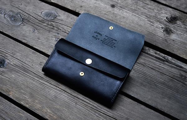 flat concha long wallet_b0172633_19192552.jpg