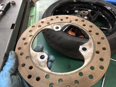 NSR MC21 焼き付き修理 ⑤_e0114857_10375355.jpg