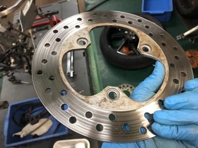 NSR MC21 焼き付き修理 ⑤_e0114857_10482044.jpg