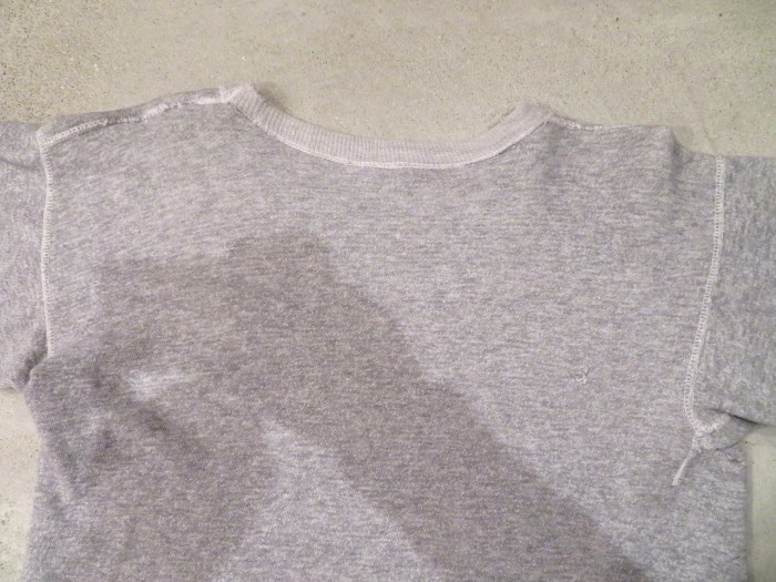 60\'s~ Unknown S/S Sweatshirts 染み込みプリント ヴィンテージ_e0187362_19181906.jpg
