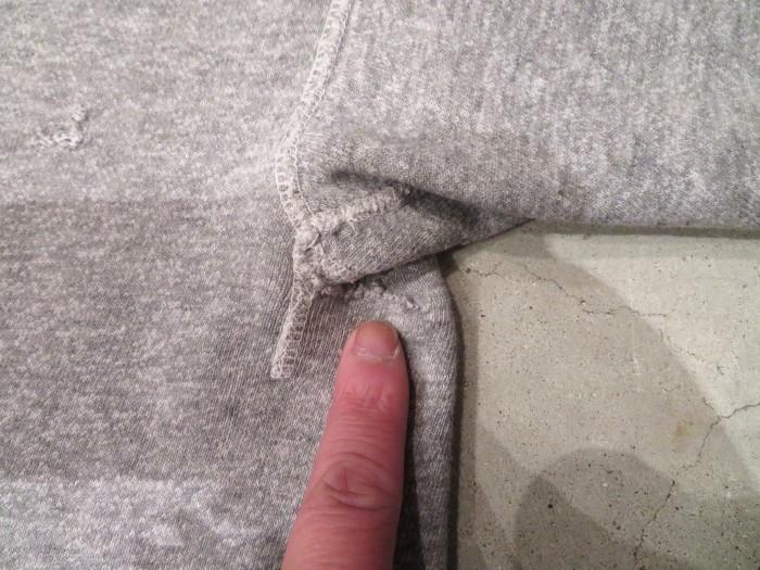 60\'s~ Unknown S/S Sweatshirts 染み込みプリント ヴィンテージ_e0187362_19193854.jpg