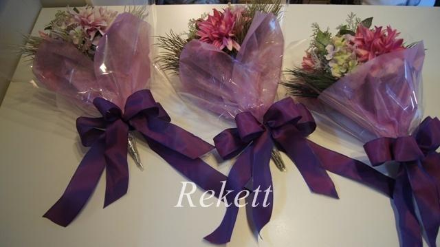 卒業式に贈る花束~❤_f0029571_00083130.jpg