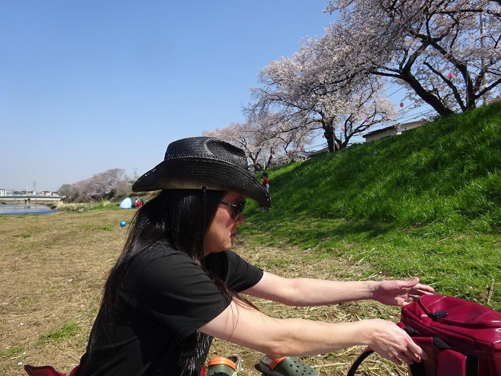 志木花見!近所の柳瀬川にて、暑かった!半袖でも汗ばんだ昨日_d0061678_12005724.jpg