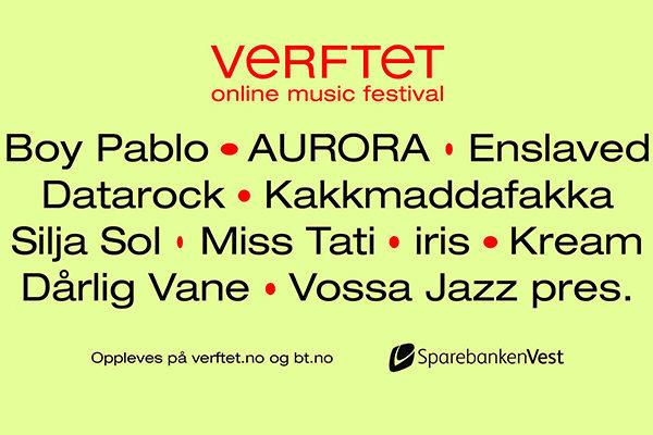 ノルウェーはベルゲンでAuroraやEnslavedらが出演する無料オンラインフェスが今日から10日間開催_b0233987_18024509.jpg