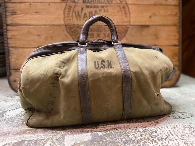 4月1日(水)マグネッツ大阪店、春ヴィンテージ入荷!!#2 U.S.Military Bag編!! Navy MusetteBag & Mark133 MOD2、M-432A!!_c0078587_22475765.jpg