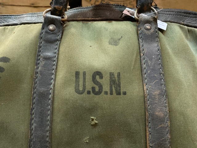 4月1日(水)マグネッツ大阪店、春ヴィンテージ入荷!!#2 U.S.Military Bag編!! Navy MusetteBag & Mark133 MOD2、M-432A!!_c0078587_22505177.jpg