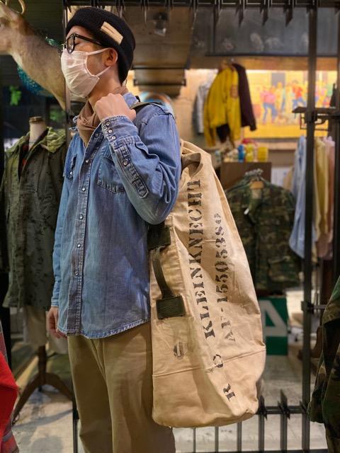 4月1日(水)マグネッツ大阪店、春ヴィンテージ入荷!!#2 U.S.Military Bag編!! Navy MusetteBag & Mark133 MOD2、M-432A!!_c0078587_23125711.jpg