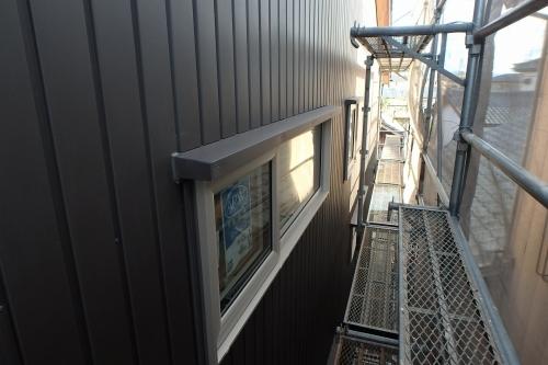 新潟市江南区 外壁 ガルバリウム鋼板 ジョリパット_c0091593_15211326.jpg