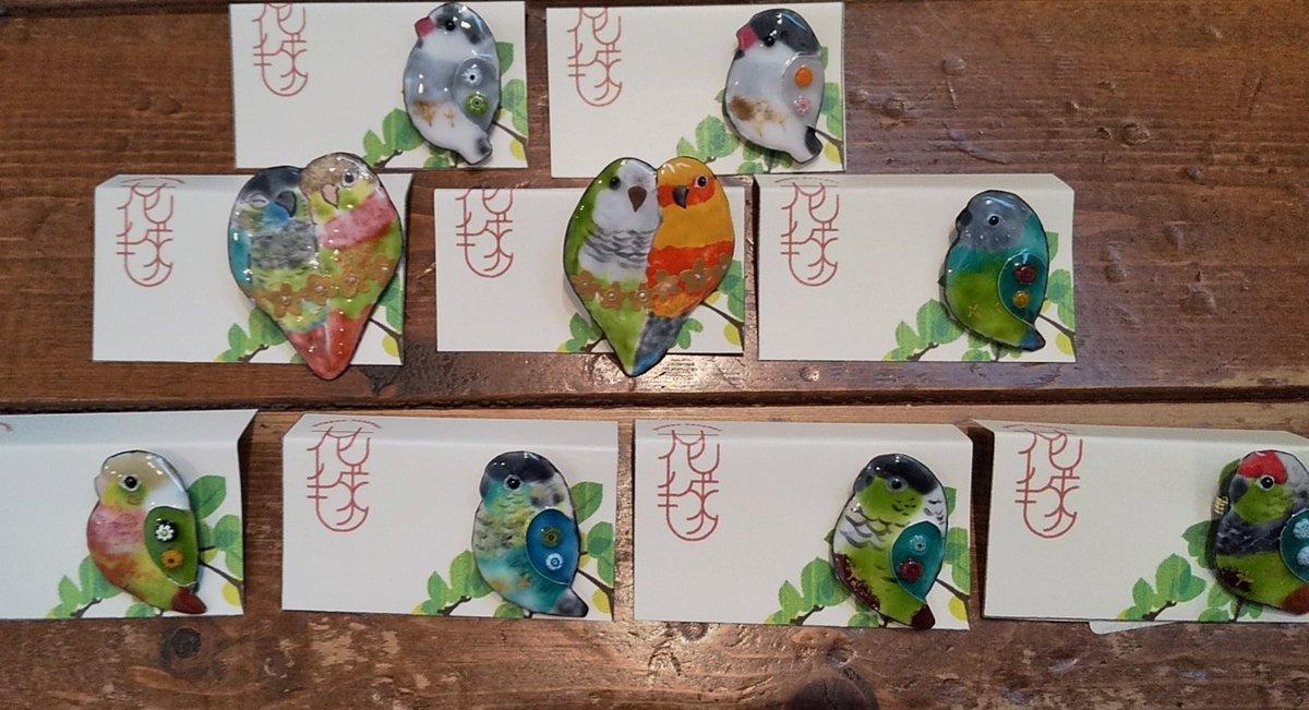 関西つうしん【鳥展 vol.10】花毬さん作品通販受付中と、オーダーも可能です_d0322493_00024329.jpg