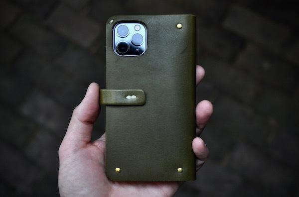 iphone 11 pro leather case book type_b0172633_19263017.jpg