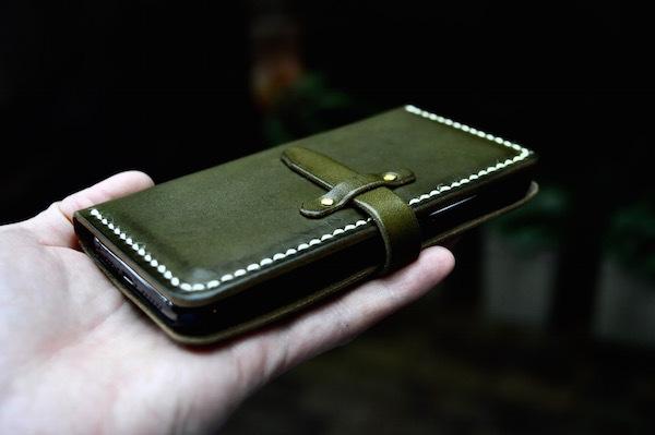 iphone 11 pro leather case book type_b0172633_19263061.jpg