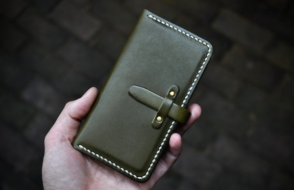 iphone 11 pro leather case book type_b0172633_19263085.jpg
