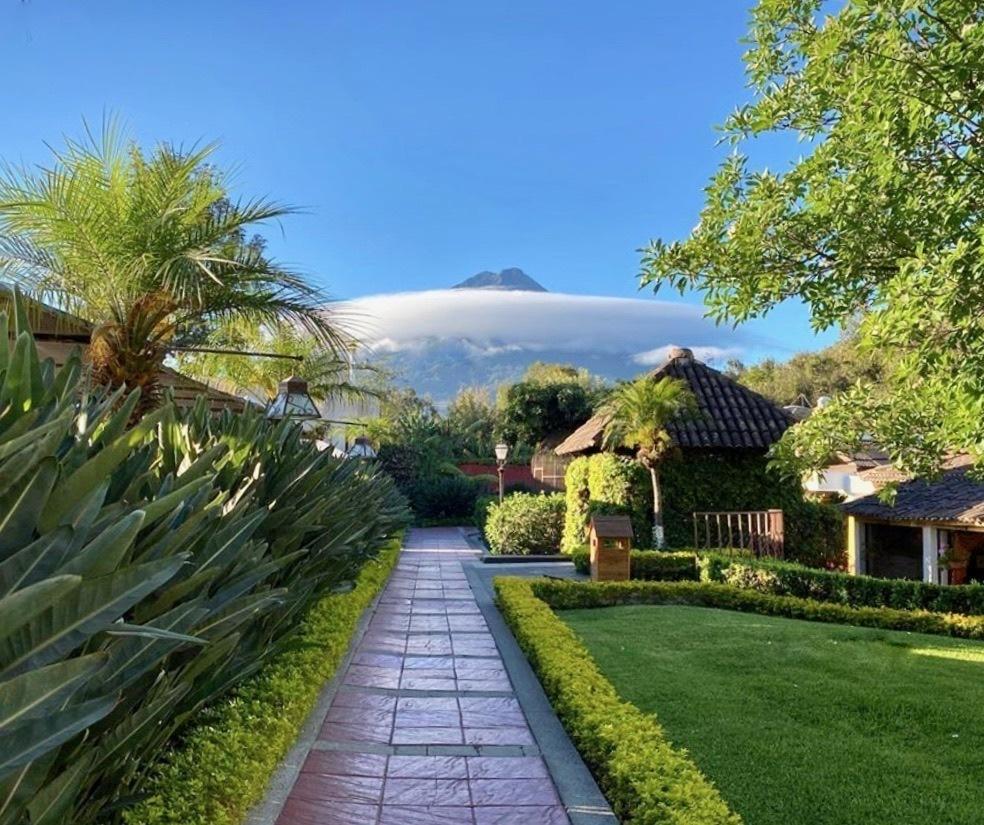 アンティグアのホテル Soleil La Antigua @グアテマラ_a0092659_18412830.jpg