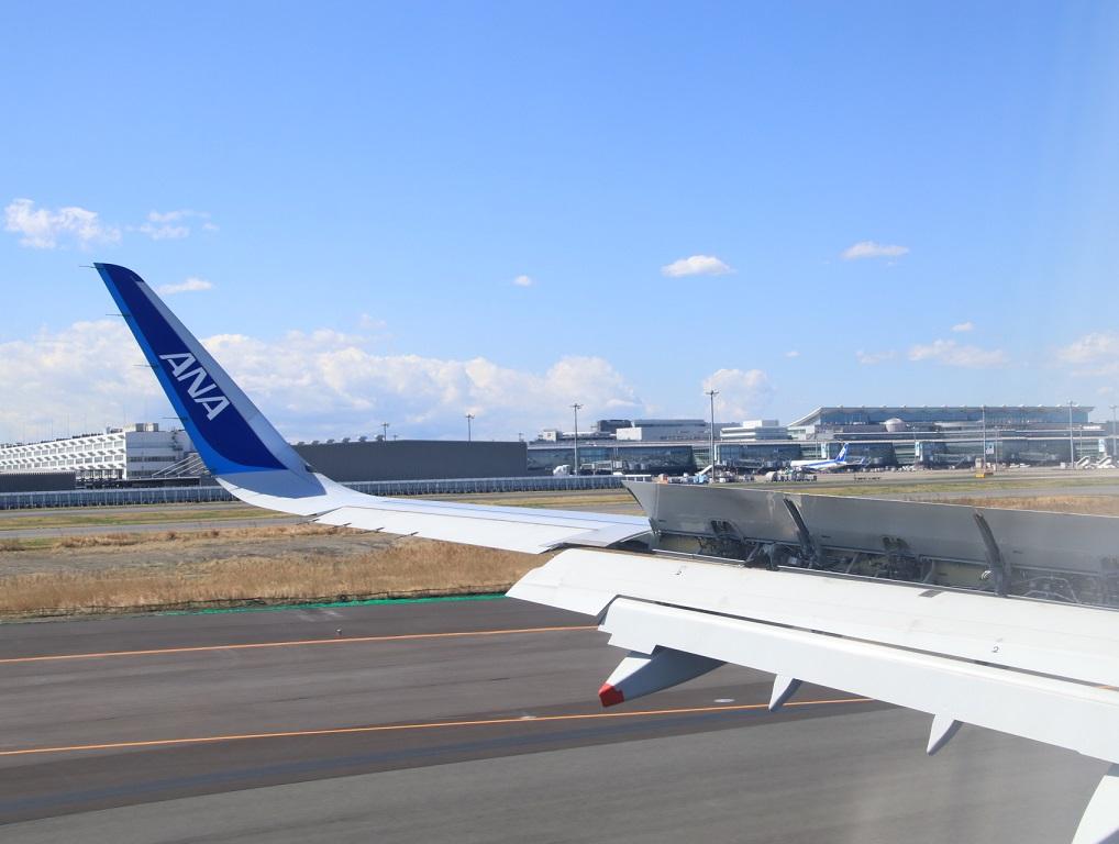 NH22便 羽田へ (用事があり)3月11日_d0202264_12322427.jpg