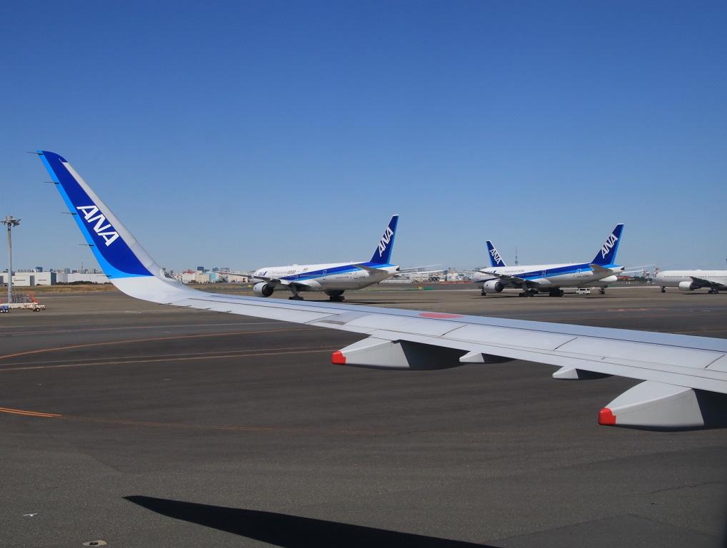 NH22便 羽田へ (用事があり)3月11日_d0202264_1235522.jpg