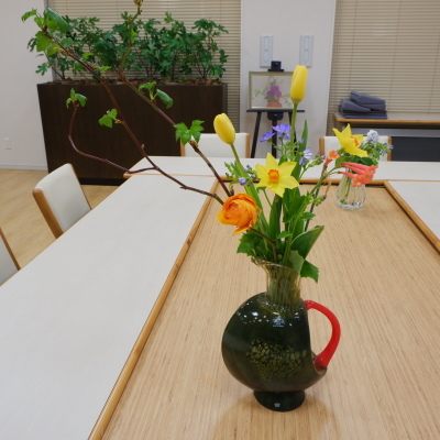 オークリーフ(絵画教室の花15)_f0049672_17010011.jpg