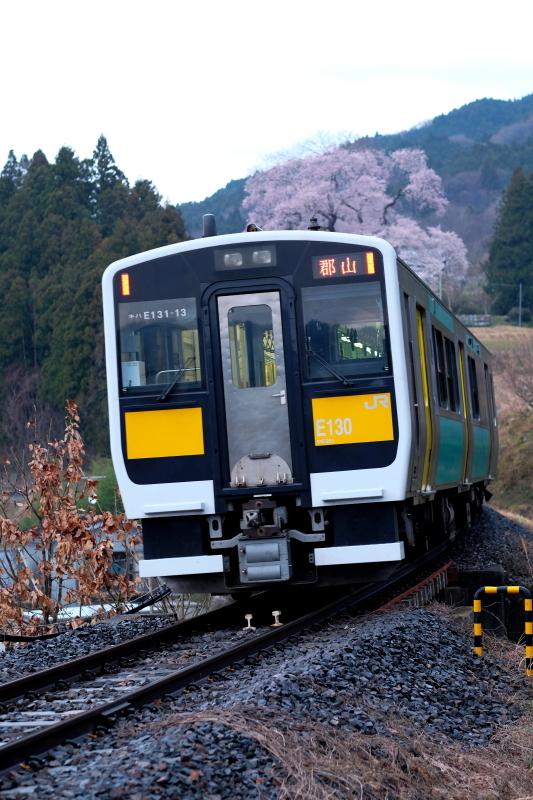 矢祭町「戸津辺の桜」&水郡線 <1> 2020・03・28_e0143883_11304167.jpg