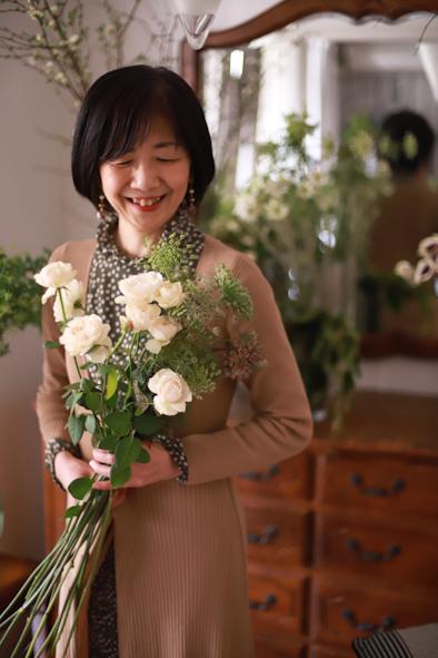 春のパーソナルブーケレッスン2020〜さわ子先生&番外編_b0208604_15082290.jpg