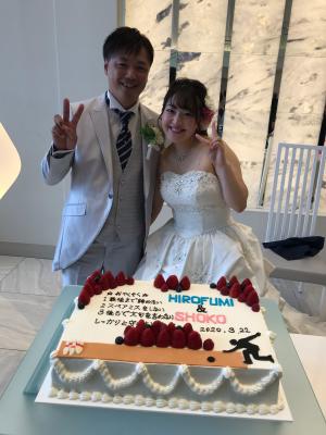 翔子ちゃんの結婚式♡_a0306726_15225351.jpg