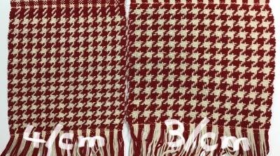手編み用毛糸で織る 4_a0074130_17455936.jpeg