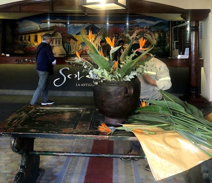 アンティグアのホテル Soleil La Antigua @グアテマラ_a0092659_14061951.jpg