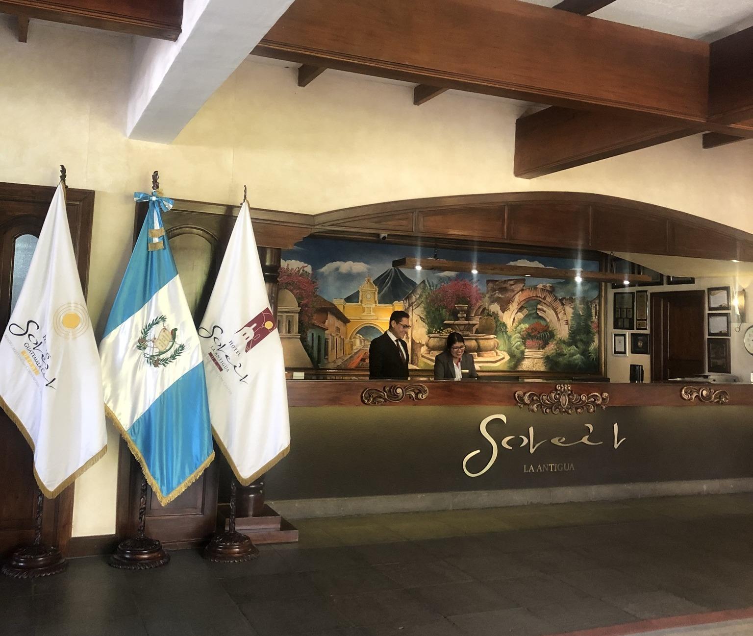 アンティグアのホテル Soleil La Antigua @グアテマラ_a0092659_14072724.jpg