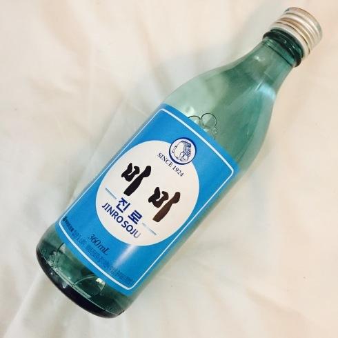 ひとりソウル旅行 26 大ヒットの復刻版「眞露」のラベルを頂く!_f0054260_06002677.jpg