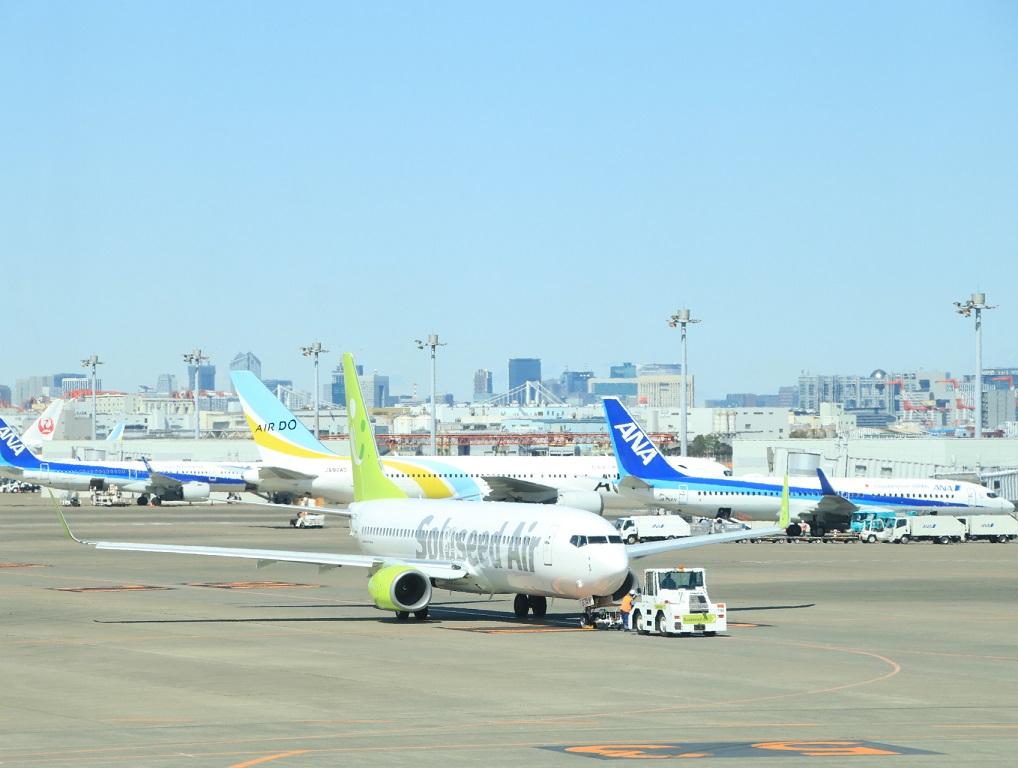 NH22便 羽田へ (用事があり)3月11日_d0202264_4122345.jpg