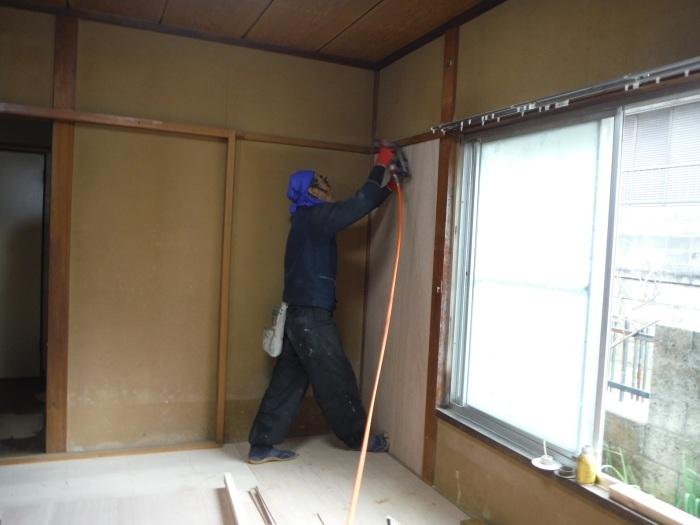 床上浸水 ~ 和室6畳間から開始です。_d0165368_07514342.jpg