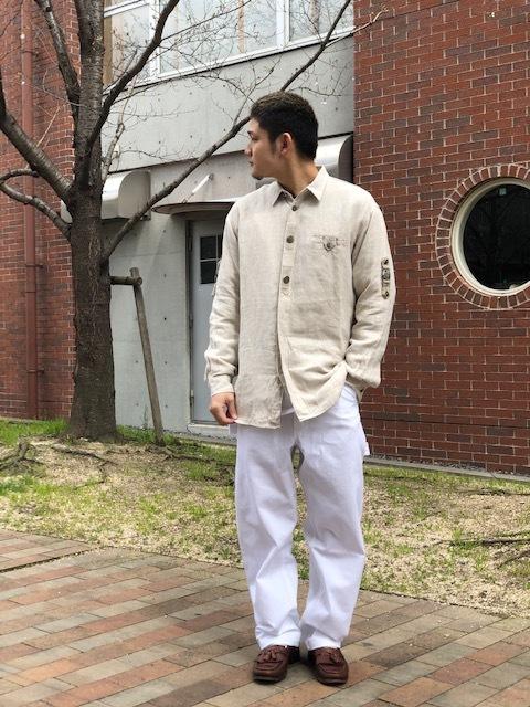 Tyrolean Linen Shirt!!_d0367472_14125587.jpg