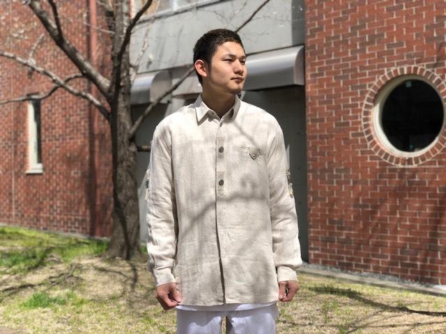 Tyrolean Linen Shirt!!_d0367472_14143009.jpg