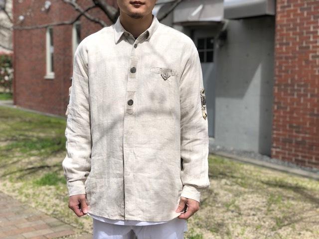 Tyrolean Linen Shirt!!_d0367472_16462409.jpg