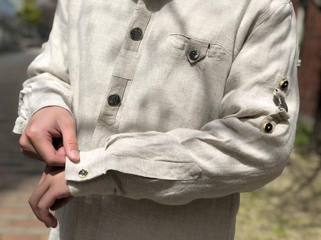 Tyrolean Linen Shirt!!_d0367472_17074690.jpg