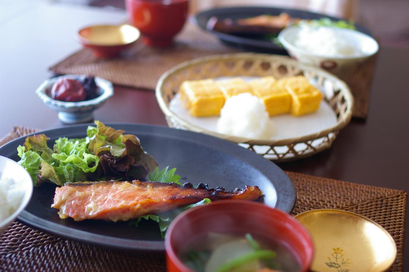 自家製 鮭の西京焼き_d0327373_09422331.jpg