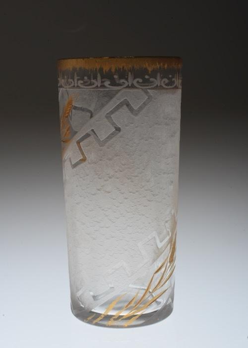 Legras Acid etching & gold Tumbler_c0108595_22394698.jpeg