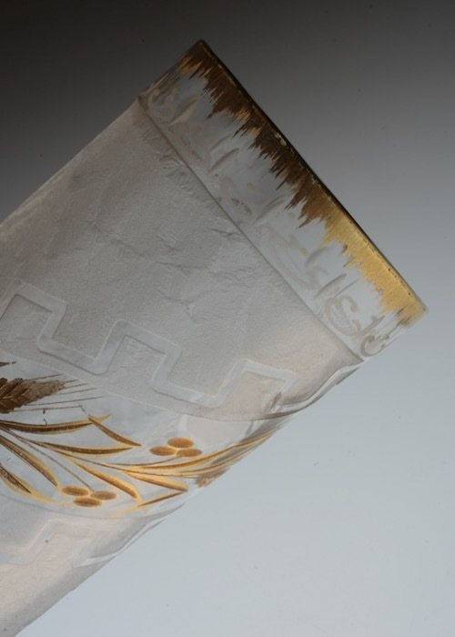 Legras Acid etching & gold Tumbler_c0108595_22405722.jpeg