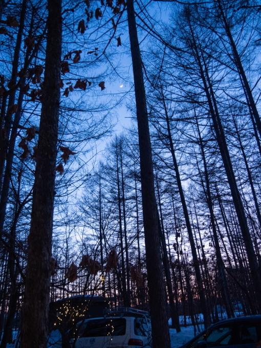 遅くなった日の入り・・夕暮れ時の光景が神秘的です。_f0276498_23382593.jpg