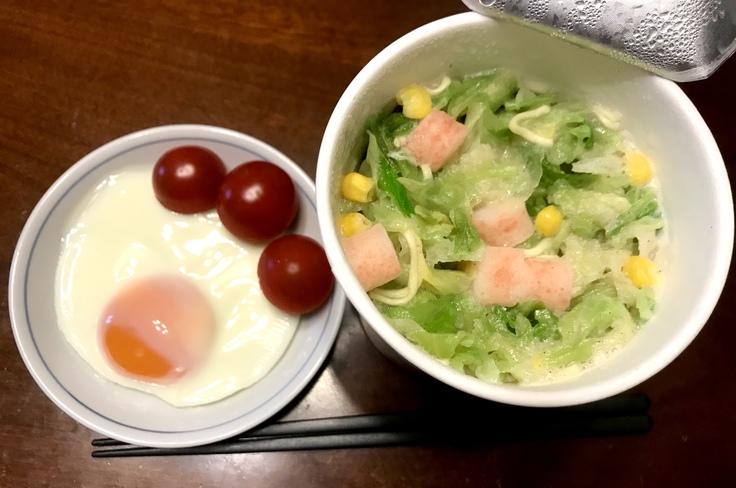どっさり野菜ちゃんぽん(エースコック)_c0212604_117332.jpg