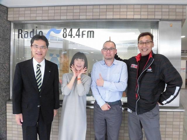 今年の富士市の満開は今週末? ラジオfの「グリーン&ブラウン」に出演_f0141310_07574908.jpg
