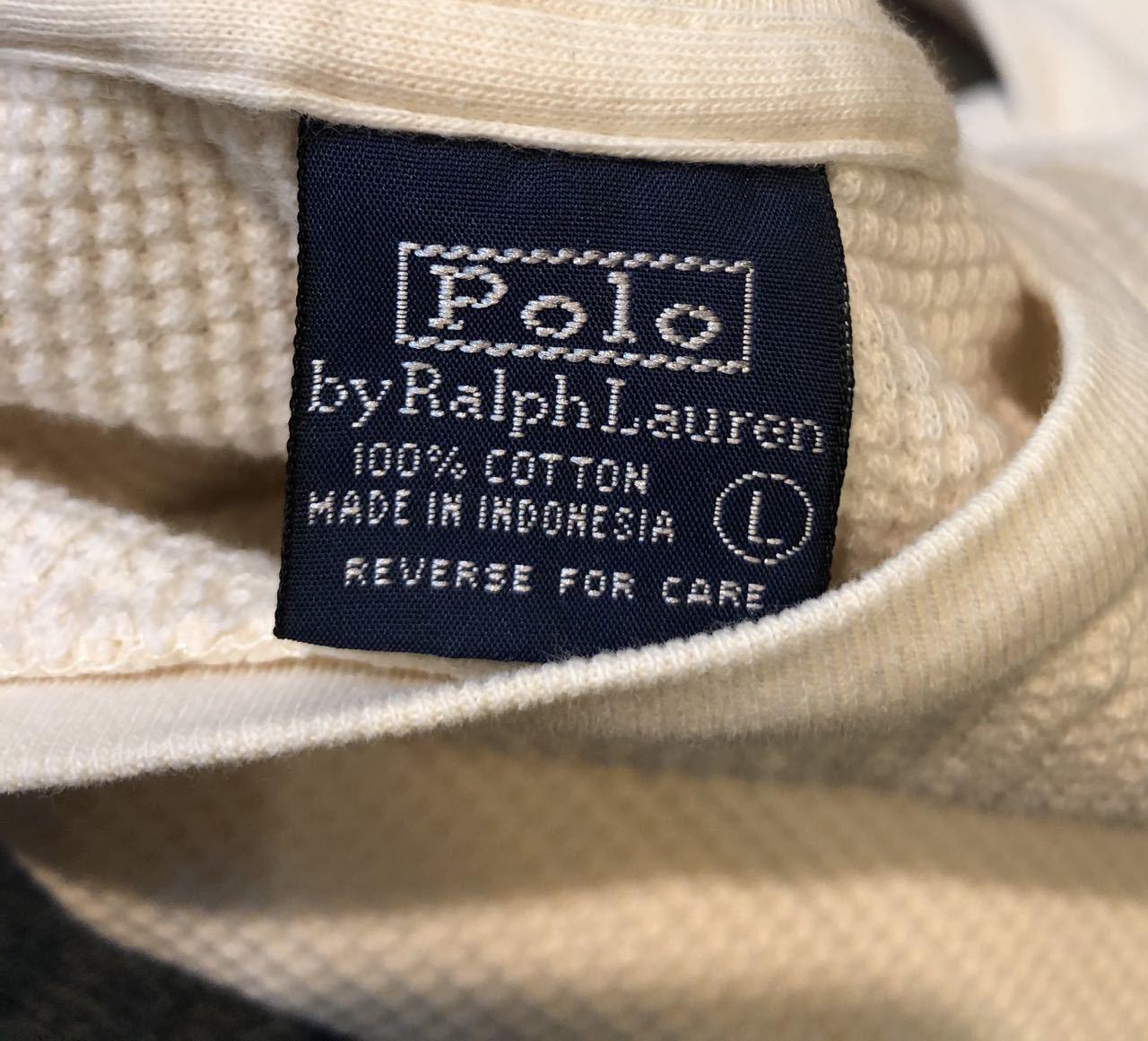 3月30日(月)入荷! Polo Ralph Lauren ラルフローレン サーマル シャツ!_c0144020_14014618.jpg