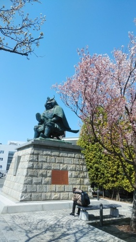 信玄公と桜の巻き(^^)_d0167225_15053838.jpg