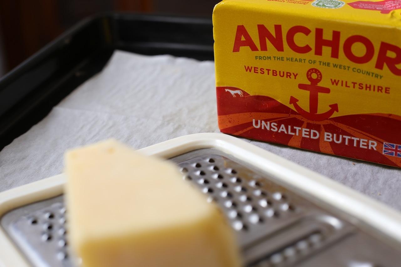 おうちベーキング、チーズサブレ_f0380234_01433611.jpeg