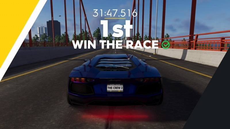 ゲーム「THE CREW2 Aventador LP700-4」_b0362459_22365495.jpg