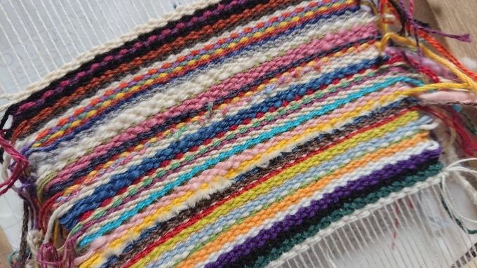 サンプル糸を使って♪_f0374160_22185068.jpg