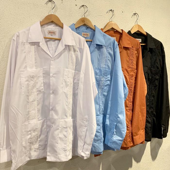 長袖のキューバシャツ_b0121563_14293914.jpeg