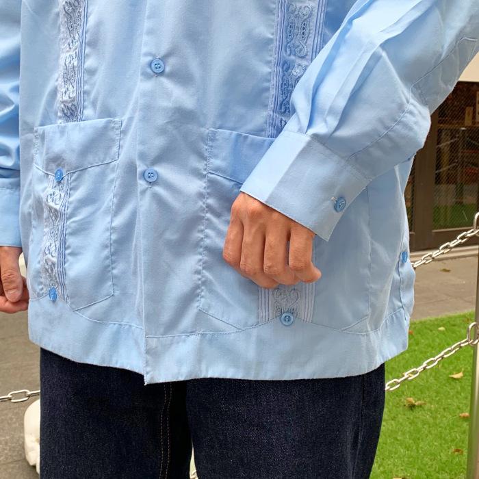 長袖のキューバシャツ_b0121563_14305343.jpeg