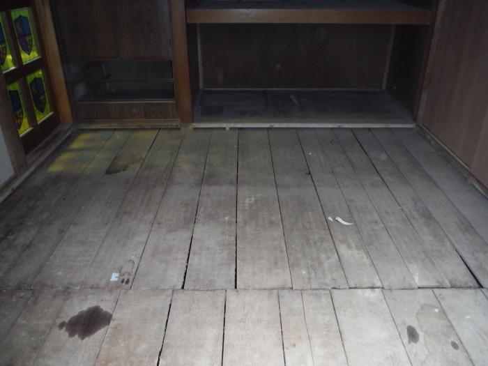 床上浸水 ~ 和室4.5畳間の工事。_d0165368_01484493.jpg