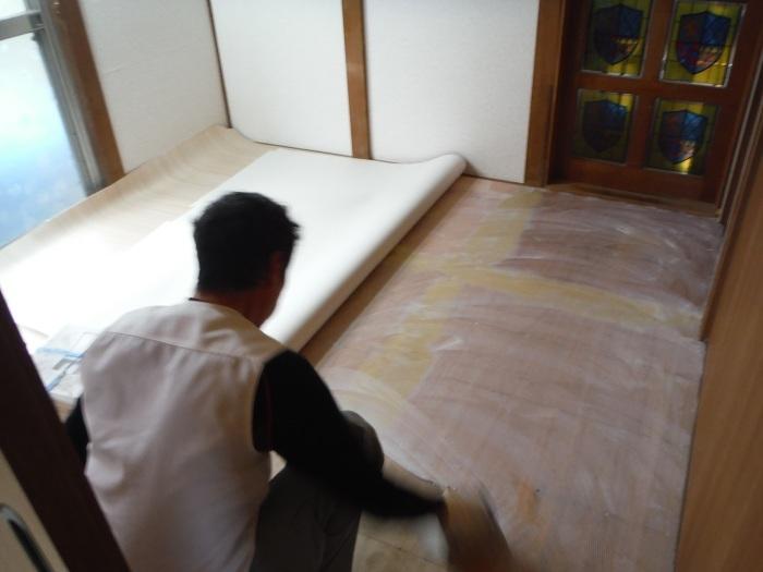 床上浸水 ~ 和室4.5畳間の工事。_d0165368_01501204.jpg