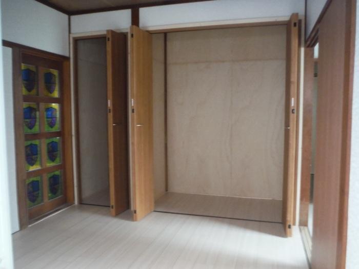 床上浸水 ~ 和室4.5畳間の工事。_d0165368_01511429.jpg