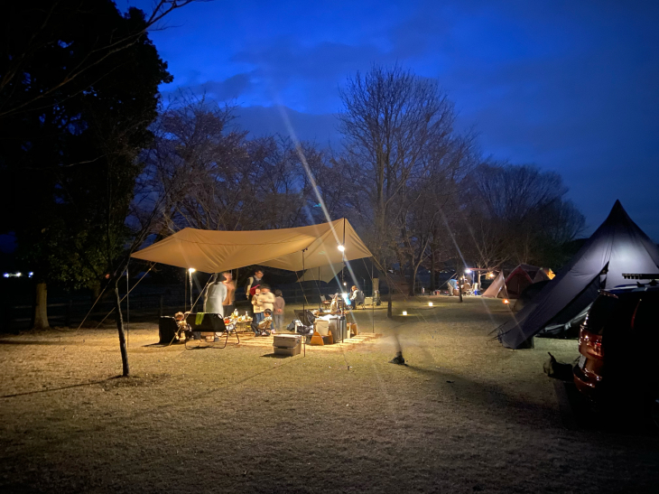 monmiyaと桜キャンプと_a0127284_05553831.jpg